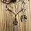 Thumbnail: Long Black Lariet in Blue Earthtones