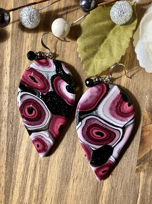 Cranberry Drop Large Clay Creation