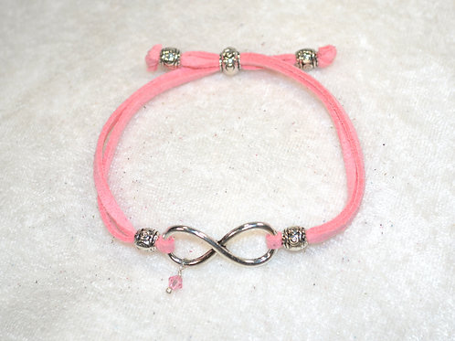 Infinity in Soft Pink