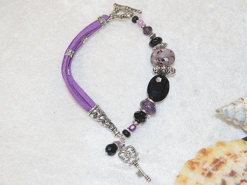 Key Swirl in Purple