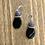 Thumbnail: Long Black Key Lariet in Purple