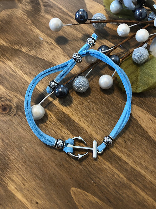 Anchor in Sky Blue