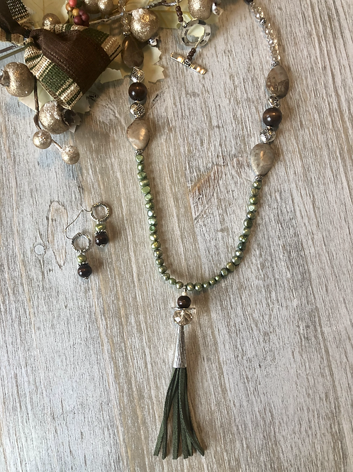 Simply Olive with Tassel