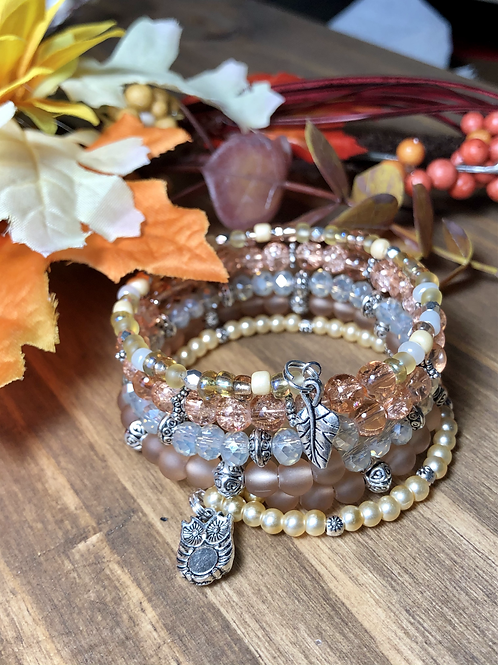 Woodland Friends in Amber