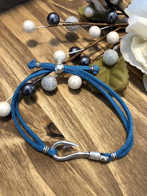 Fish Hook in Turquoise