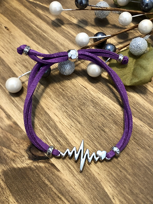 Heartbeat in Violet