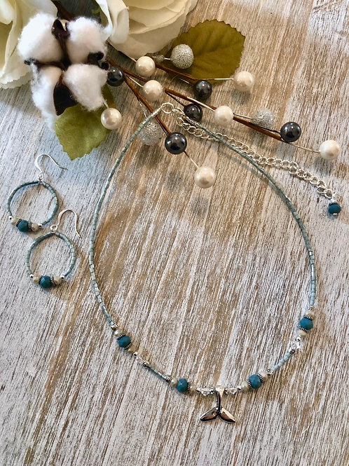 Dainty Choker with WhaleTail