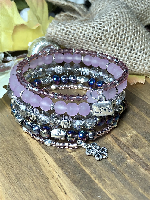 Live Loud in Mixed Purple