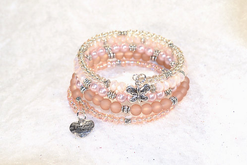 Loving Butterfly in Blush Tones