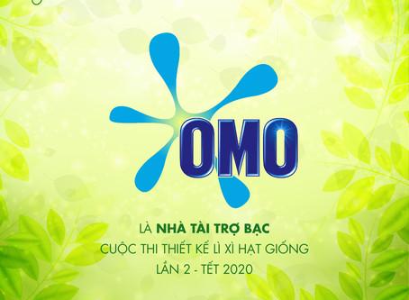 Omo là Nhà Tài Trợ Bạc của Cuộc thi Thiết kế Lì xì Hạt giống 2020