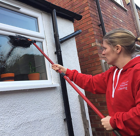 Let us clean your windows - professional, thorough, consistently high quality