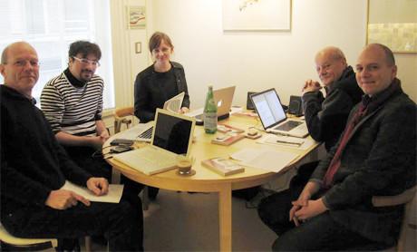 From left to right: Guus Janssen, Francesco Filidei, Goska Isphording, Roderik de Man, and Mr. Jorge Isaac. Credit: Prix Annelie de Man