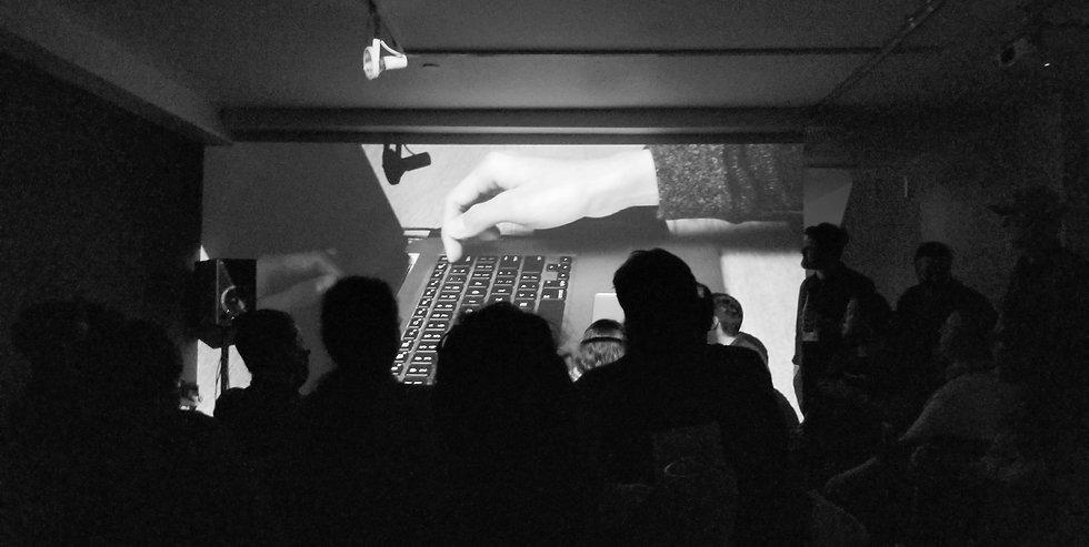 LaptopMusic_NYCEMF2019_b&w