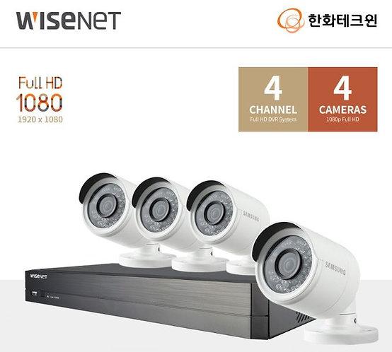 4 CH DVR CCTV 세트