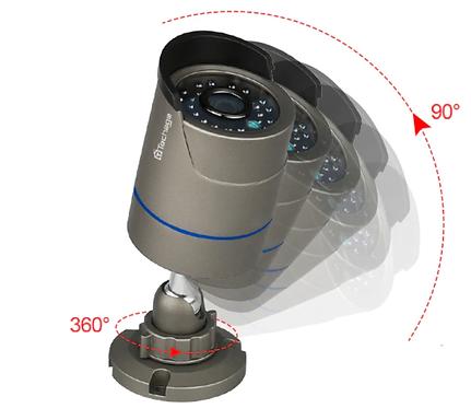 POE 1080P CCTV 카메라