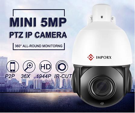 PTZ 36X 5MP 카메라
