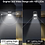 Thumbnail: Didihou 100 led 태양광 야외램프 pir 방수