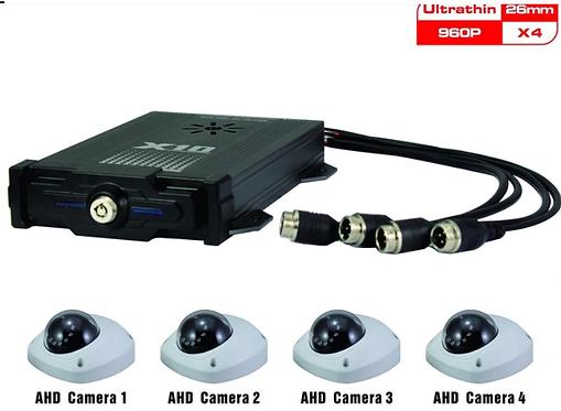 4CH CCTV 레코더 4G, LTE, GPS