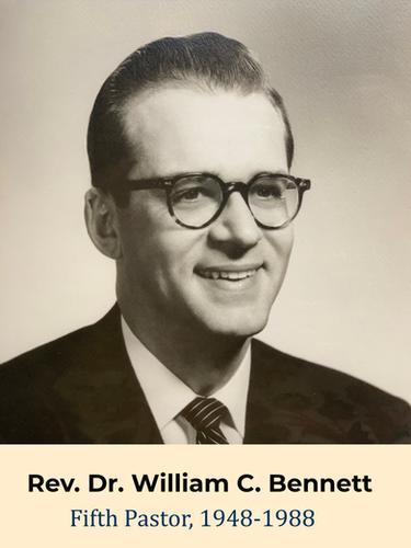 Rev. Dr. William C. Bennett