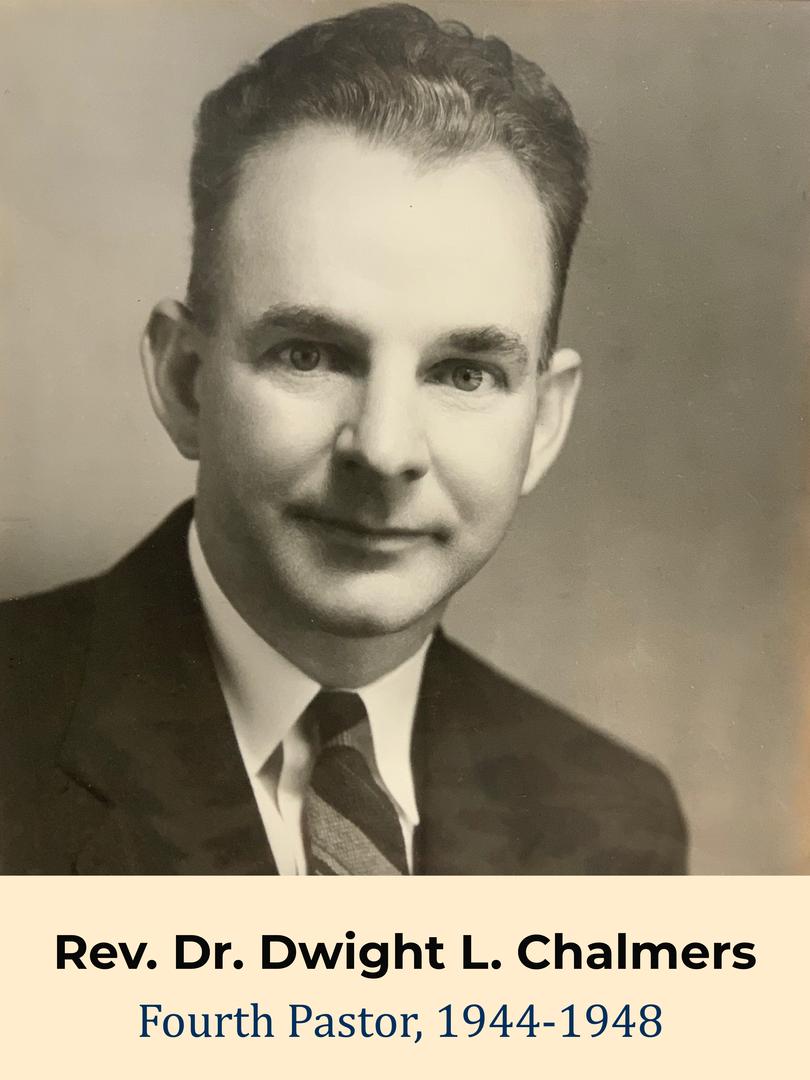 Rev. Dr. Dwight L. Chalmers