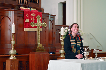 Communion Table and Katie.png