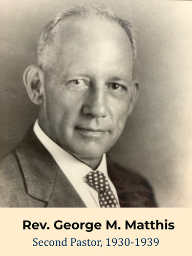 Rev. George M. Matthis