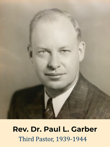 Rev. Dr. Paul L. Garber