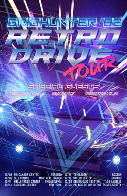 Tour Poster Concept