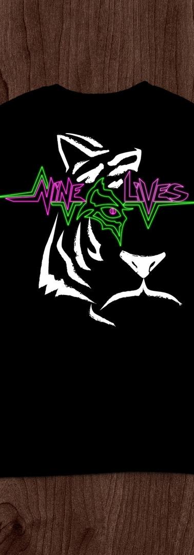Nine Lives Band T-Shirt