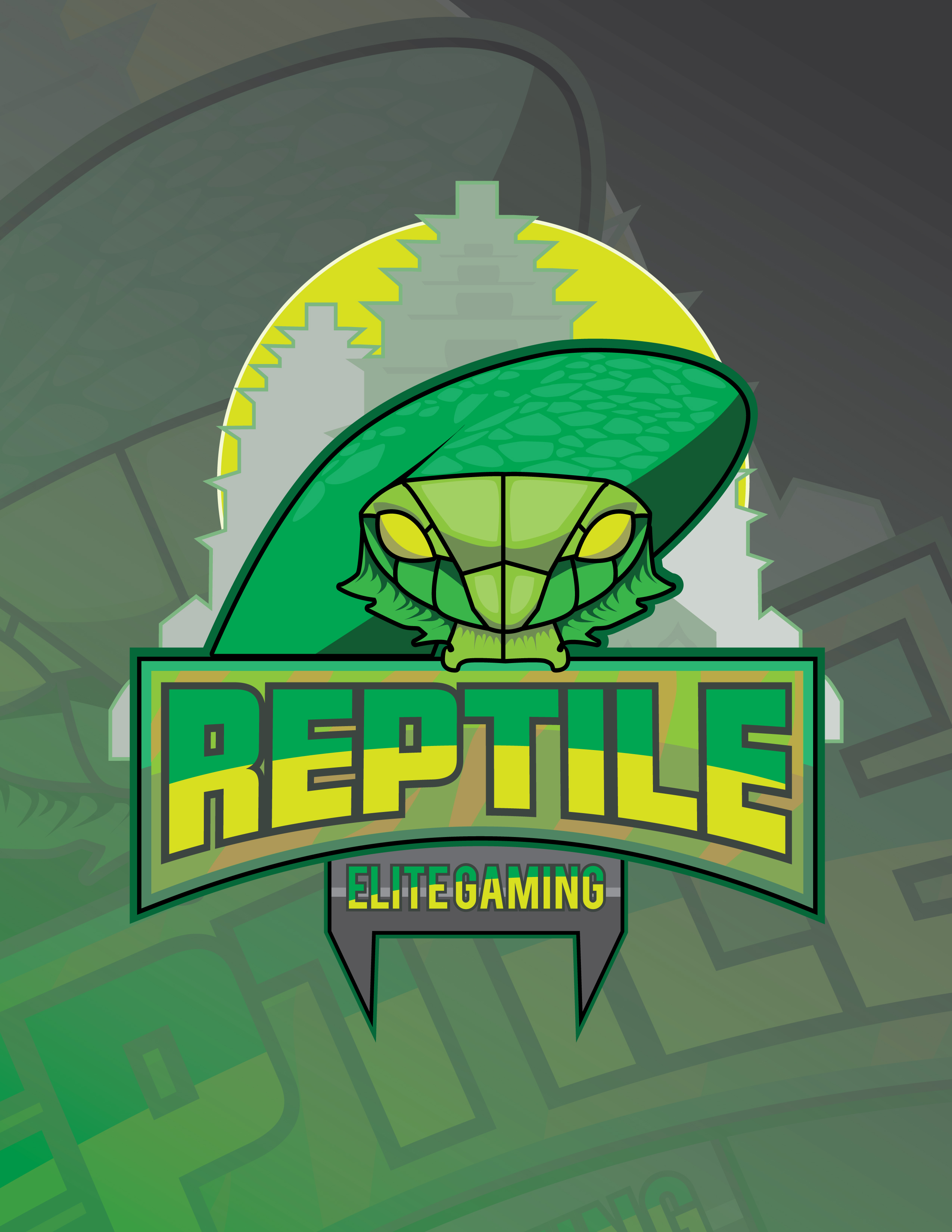 Reptile Elite Gaming - E-Sports Logo