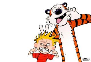 Artist Inspiration: Calvin & Hobbes