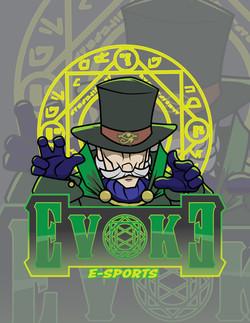 Evoke - E-Sports Logo