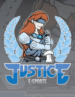 Team Justice - E-Sports Logo