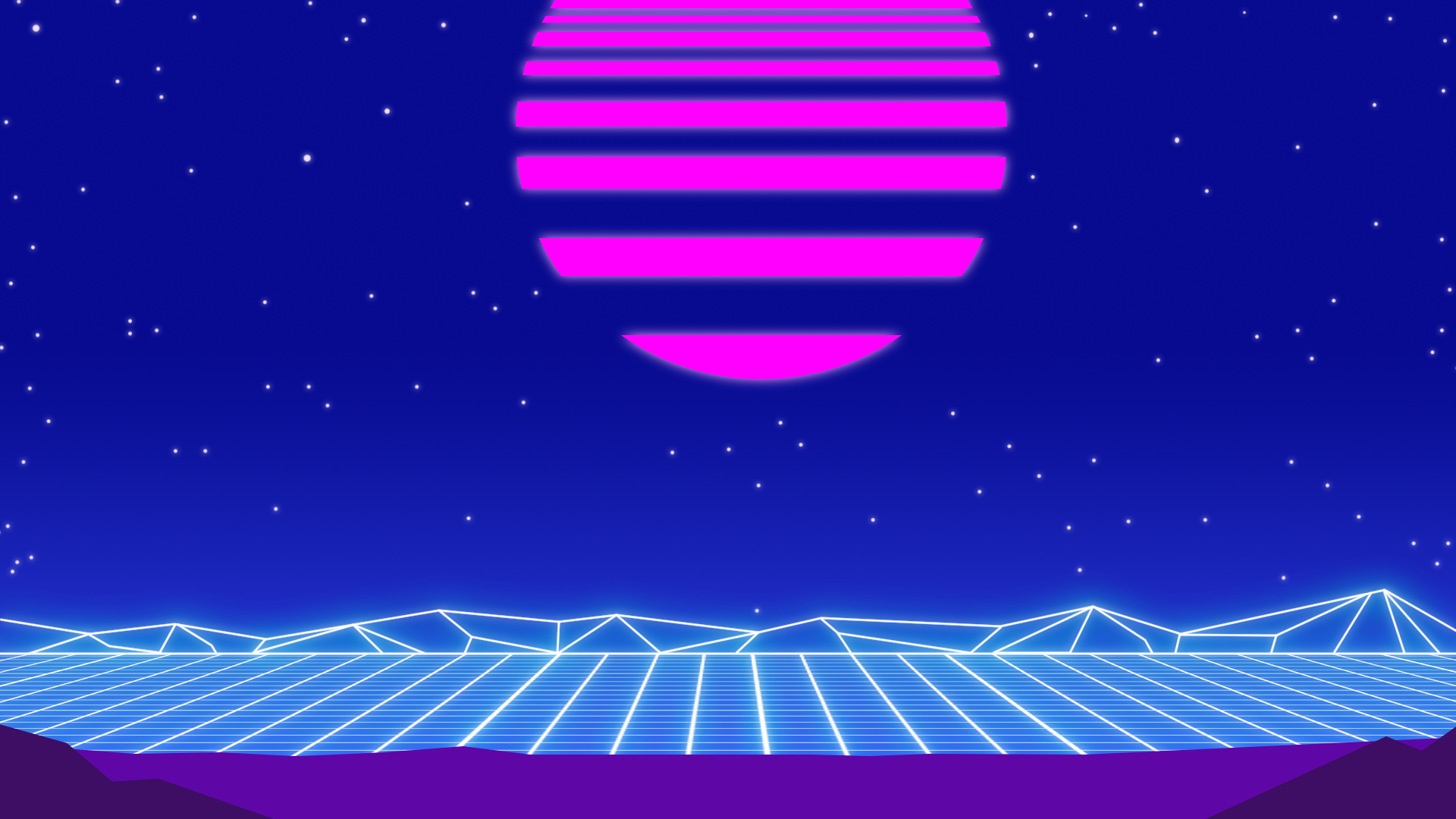 Vaporwave Background