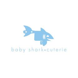 Baby Shark-Cuterie Logo Concept