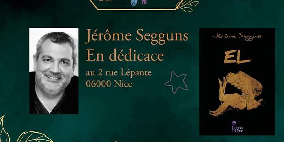Dédicace EL de Jérôme Segguns