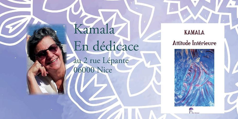 Dédicace Attitude Intérieure de Kamala