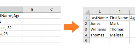 Excel: Parse Text from One Column into Multiple Columns