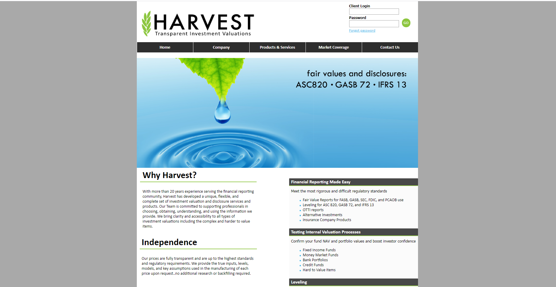 Harvest Investments