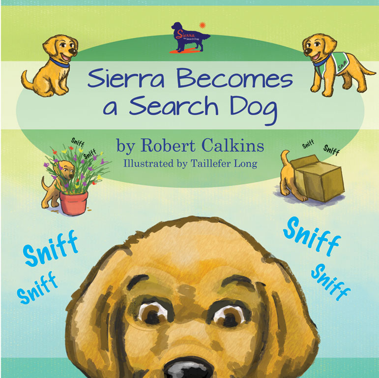 Sierra Becomes a Search Dog