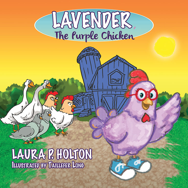 Lavender the Purple Chicken