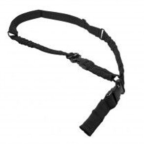 VISM® by NcSTAR® 2 POINT OR 1 POINT SLING WITH METAL SPRING CLIPS - BLACK