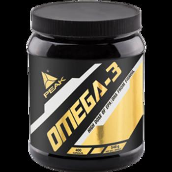 PEAK - Omega 3 - EPA-DHA-GLA-Fischöl Kapseln 400 Kapseln
