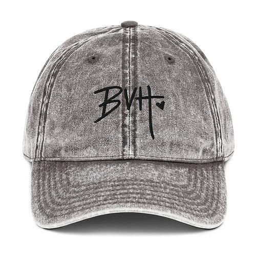 BVH Vintage Cotton Twill Cap