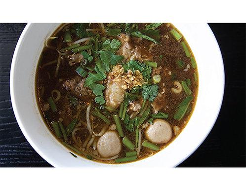 B04. Combination Beef Noodle Soup:
