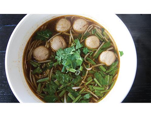 B02. Beef Ball Noodle Soup