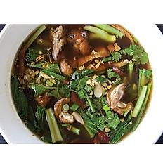 B08. Roasted Duck Noodle Soup