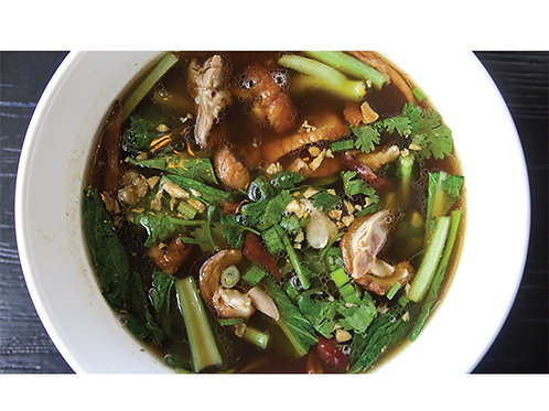 B08. Roasted Duck Noodle Soup