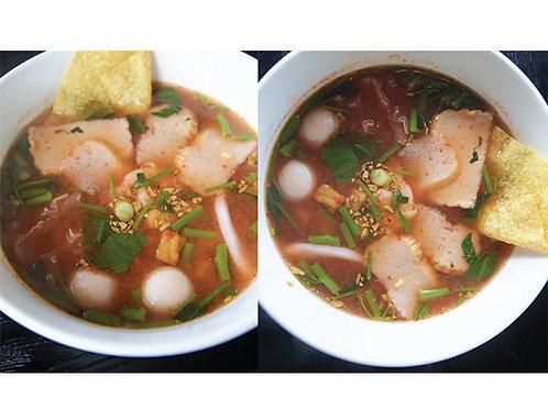 B09. Yen Ta Fo Noodle Soup