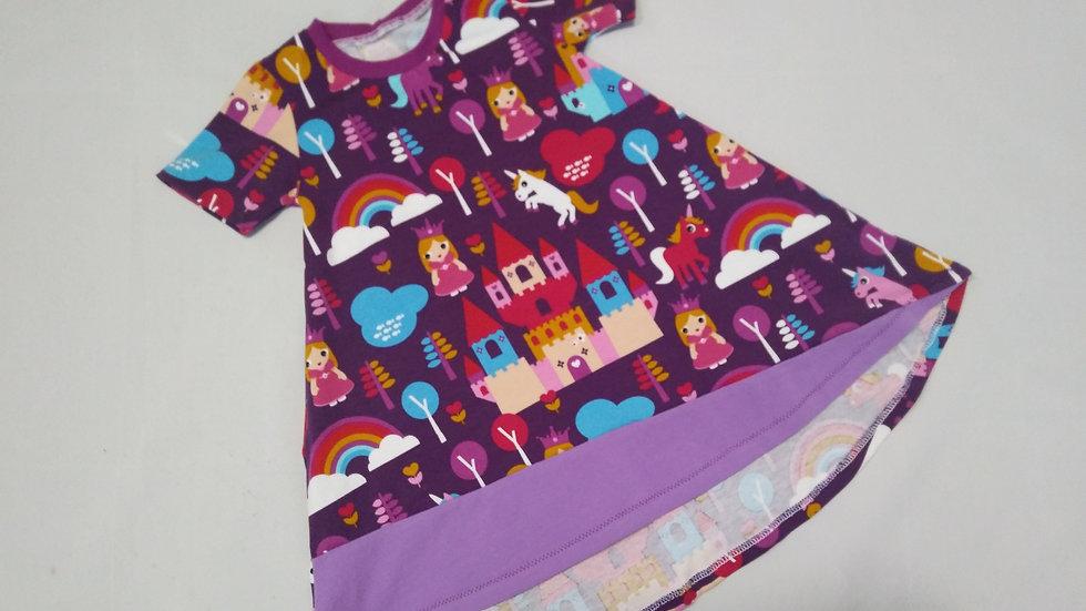 High Low Toddler Dress 12-18m